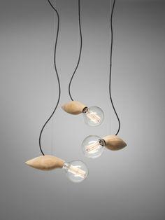Die Designer Lampe mit organischen Formen - #Lampen