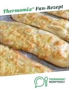 Käse-Ķnoblauch Naan, Fladenbrot von Hademer Landfee. Ein Thermomix ® Rezept aus der Kategorie Backen herzhaft auf www.rezeptwelt.de, der Thermomix ® Community. Bread Baking, Nom Nom, Vegetables, Ethnic Recipes, Party, Food, Garlic Naan, Garlic Recipes, Naan Flatbread