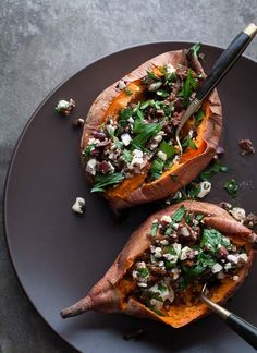 Baked-Stuffed-Sweet-Potato-Recipe-from-Gourmande-in-the-Kitchen