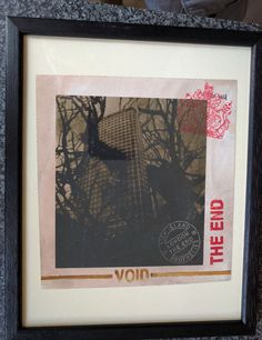 Stot21stcplanb Center Point Gets it! London the End Signed Framed Print Rare. #OutsiderArt