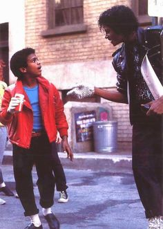 Michael Jackson & Alfonso Ribeiro 1983 Pepsi TV Commercial — 12 year old Ribeiro was playing the lead role in the Broadway musical The Tap Dance Kid when he filmed this commercial.