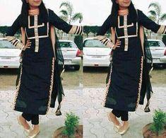 deol - All About Salwar Suit Neck Designs, Kurta Neck Design, Neck Designs For Suits, Kurta Designs Women, Dress Neck Designs, Indian Designer Suits, Indian Suits, Indian Wear, Punjabi Salwar Suits