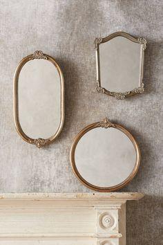 Slide View: 3: Vardine Oval Mirror