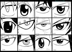 Fairy Tail Eyes by Randazzle100 on deviantART