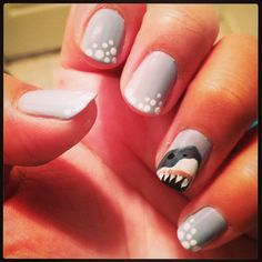Nails for shark week