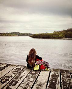 Hiking Loch Lomond #Scotland #dreadlocks #lake
