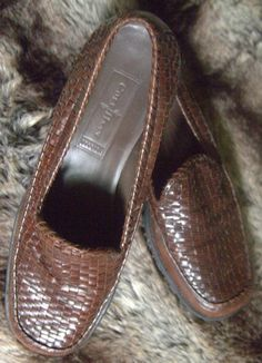 Women's Vintage Casual Brown Cole Haan Country Edition Line Loafer/Walking Shoe Size 7.5. $54,00, via Etsy.