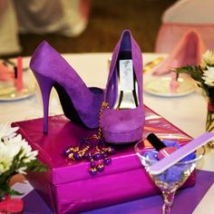 1000 Images About The Diamond Slipper Party On Pinterest