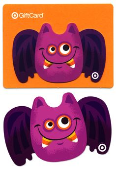 New Target Bat Buddy Gift Card in stores now by Tad Carpenter.