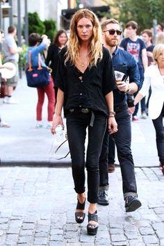 Erin . Street style