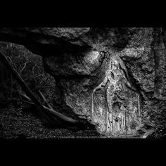 Photo by: Jeff Gusky @hiddenwwi | German WWI soldiers carved this commanding presence of a mythical goddess at the entrance to an underground city near the front lines. It's approximately ten feet high. Imagine experiencing mass destruction on the front line and returning to the relative safety of an underground city graced with this figure at the entrance. The humanizing influence of classical art helped the soldiers to hold onto to their humanness. To view more of my photographs of The…