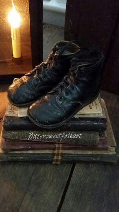 Books and shoes...