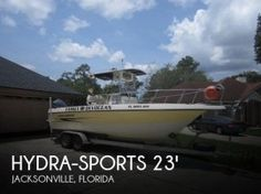 #Jacksonville FL #Vehicles / 2005 #HydraSports 230 Center Console - Geebo