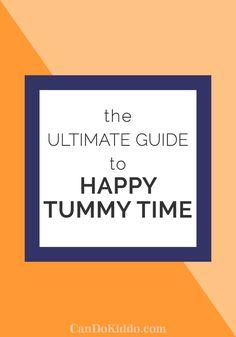 Tummy Time tips tools activities. CanDoKiddo.com