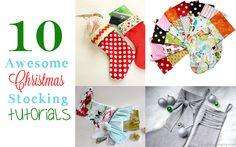 10 Christmas Stocking Tutorials