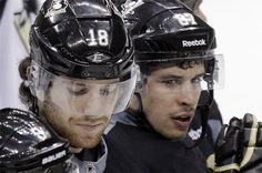 James Neal and Sidney Crosby... ): sad for the pens...