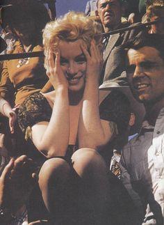 Marilyn in Bus Stop by Milton Greene in 1956.