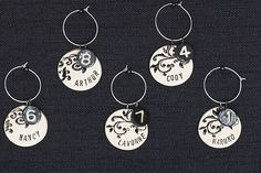 personalized key chains? I can do these for around $.60 each.