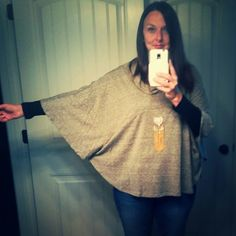 From my fix! #oliveandoak #stitchfix So fun! My cape. #supermom