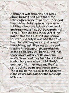 Bullying activity~ Every teacher should try this...