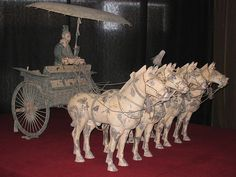 Terracotta Army, Terra Cotta Warriors and Horses Statues, Terracotta Army, Culture Art, Archaeological Discoveries, Medieval World, China Art, Ancient China, Horse Art, Horses