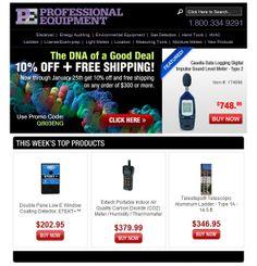 Professional Equipment #Email #Marketing #EmailMarketing #Design