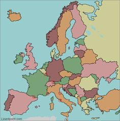 Comprehensive Enchanted Learning Map Of Europe Geography Test Europe World Map Quiz Europe Modern European Map Countries Of Europe Quiz Map Of Europe With No Labels Geography Test, Geography Activities, World Geography, Teaching Geography, European Flags, European Map, European Day Of Languages, European Countries, World Map Quiz