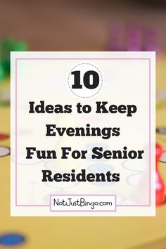 10 Ideas for Fun Evenings at Your Nursing Home - So, what happens in your nursing home or assisted living facility in the evenings after you leave? Assisted Living Activities, Senior Assisted Living, Nursing Home Activities, Art Therapy Activities, Senior Living, Exercise Activities, Physical Activities, Cognitive Activities, Assisted Living Facility