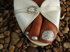 Bling toes ;)