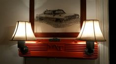 Valve cover lamp