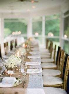 Photograph of a Pretty Table Setting -     By Elisa B Photography