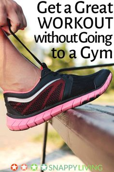 You don't need a gym to get a great workout. Plenty of exercises don't require any gym equipment at all, or you can add a few very affordable pieces, like steppers or dumbbells. Exercising at home saves you both time and money, and many people prefer it to working out in front of strangers.