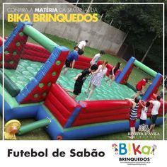A Bika Brinquedo oferece brinquedos para os baixinhos e para os grandinhos também temos  o Futebol de sabão uma quadra de 5m x10m que suporta ate 400 kg. Acompanhe na Revista DÁvila as matérias semanais da Bika Brinquedo e também de todos os outros parceiros. http://ift.tt/1UOAUiP (link na bio).