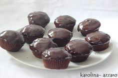 karolina-azzaro: Čoko- mätové Cupcakes
