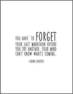 Frank Shorter marathon running quote by JenniferDareDesigns
