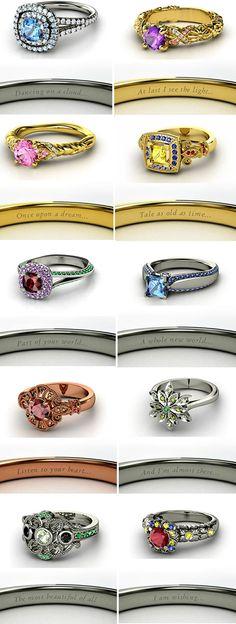 disney princess engagement rings sleeping beauty | source heckyeahdisneymerch.tumblr.com