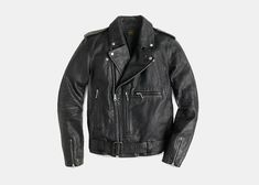 A riding jacket is important when riding. It is important to make sure that you wear the right riding jacket. The jacket protect you from injuries in case of a fall. Best Mens Leather Jackets, Leather Men, Black Leather Biker Jacket, Riding Jacket, J Crew Men, Cool Jackets, Jacket Style, Motorcycle Jacket, Italian Leather