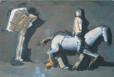 chevaux et cavaliers - (Mario Sironi)