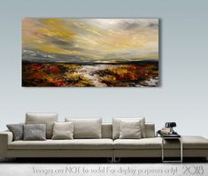 Abstract Painting Palette Knife Modern Painting Art LARGE Painting Wall decor Wall Art Canvas Art Acrylic painting Art by Catalin Seascape. Decor your home with a hand painted and unique painting. Check out this large wall art for living room decor Most Beautiful Paintings, Unique Paintings, Abstract Painting Techniques, Seascape Paintings, Pour Painting, Large Painting, Painting Art, Interior Desing, Artwork Online