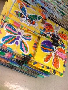 Oodles of Art: Spring Butterflies, 1st Grade