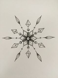 drawing easy cool snowflake draw pencil drawings some try doodle beginners animals buzzhippy realistic simple snowflakes minion uploaded pen