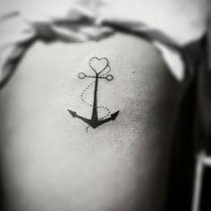 """Tattoo by <a href=""""http://instagram.com/gigante_tattoo"""">@gigante_tattoo</a>! """"A fé é o meu leme e a esperança a âncora lançada no lugar seguro, onde é impossível naufragar os meus sonhos."""" - Day Anne"""