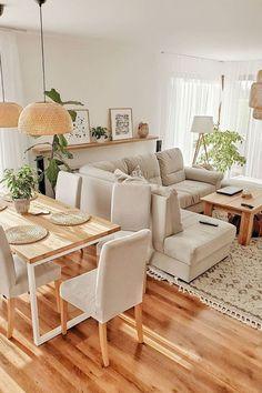 Home Room Design, Home Interior Design, Living Room Designs, Interior Ideas, Interior Inspiration, Interior Decorating, Living Room Decor Cozy, Home Living Room, Kitchen Living