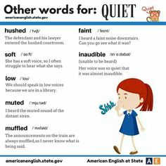 Learn English with Oxford English Academy Other Words for Quiet.