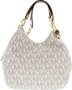 461bfd36baf4 Michael Kors Women's Large Fulton Logo Bag Leather Shoulder Tote #leather  #shoulder #tote #logo #fulton #kors #womens #large #michael. Sale & Events