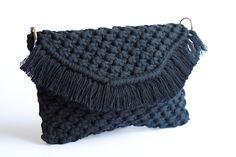 Makrame -käsilaukku / EKOTAR Design - EKOTAR Design Merino Wool Blanket, Bags, Design, Fashion, Handbags, Moda, Fashion Styles, Fashion Illustrations
