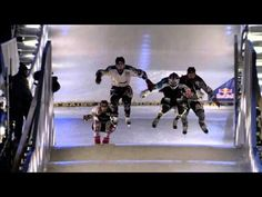 Downhill ice cross dreams become reality - Red Bull Crashed Ice 2014