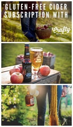 A delicious curated a box for those who want to a gluten-free alternative to beer in their life. We will deliver a box of delicious gluten-free cider to your door each month. #glutenfree