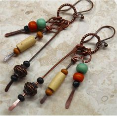 Boho Urban Chic Earrings by SunStones on Etsy, $14.00