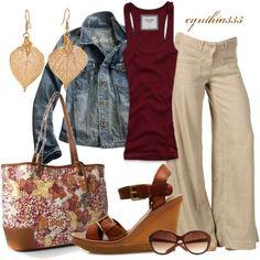   Fall Weekend Wear  